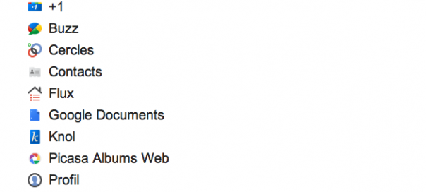 Google Takeout vous permet aussi de récupérer vos Google Docs