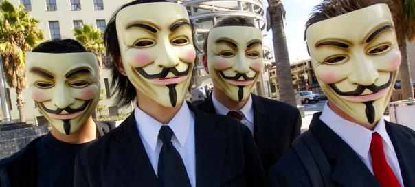 Anonymous : 25 personnes présumées arrêtées