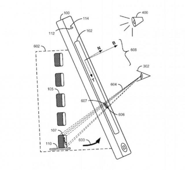 Apple brevet écran 3D