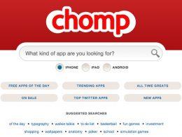 Chomp, moteur de recherche d'applications mobile