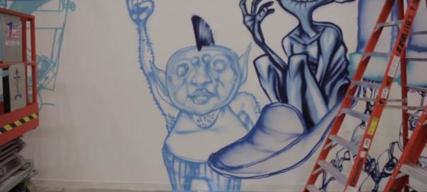 Facebook : Artiste David Choe payé en actions désormais millionaire