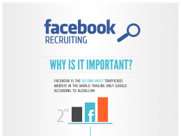 Facebook : Recrutement social