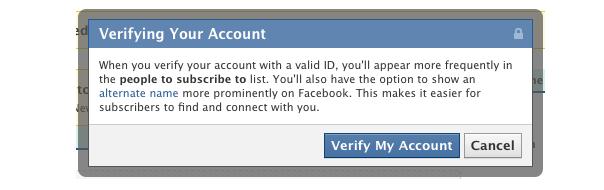 Facebook lance les comptes vérifiés et les pseudonymes