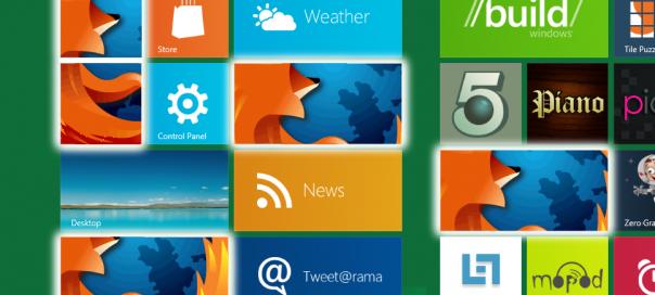 Mozilla travaille sur une version Metro de Firefox pour Windows 8