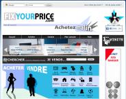 FixYourPrice.com, c'est vous qui fixez le prix de ce que vous voulez acheter !