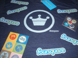 Stickers Foursquare