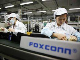 Chaîne de montage de l'iPhone chez Foxconn