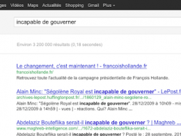 Francois Hollande : Incapable de gouverner