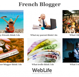 What I think I do, la version blogueur français