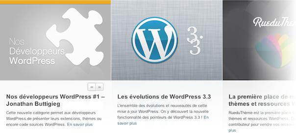 WordPress : Newsletter pour suivre l'actualité en français