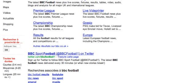 Google : Moins de 10 résultats par page, fonctionnalité ou bug ?