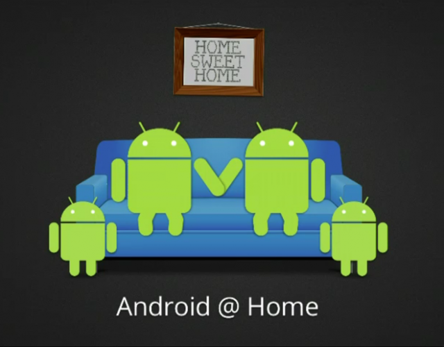 Google Android@Home