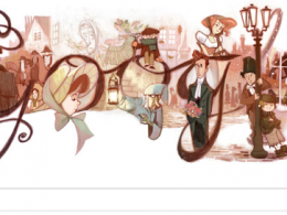 Google : Doodle Charles Dickens