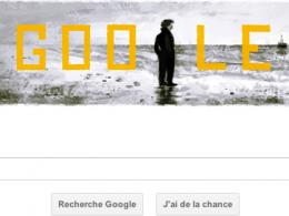 Google : Doodle François Truffaut