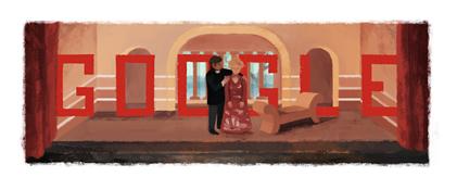 Google : Doodle François Truffaut 3