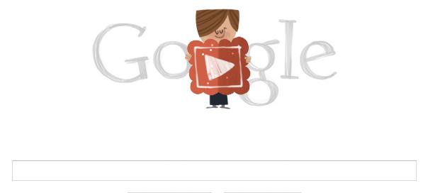 Google : La Saint Valentin, fête des amoureux, en doodle