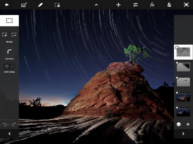 iOS : Adobe Photoshop Touch