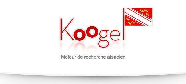 Koogel : Déclinaison alsacienne du célèbre moteur de recherche Google