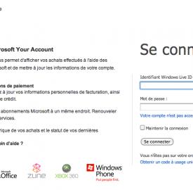 Microsoft Your Account