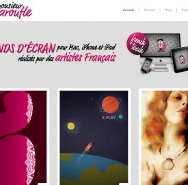 Monsieur Maroufle, un site pour trouver votre fond d'écran