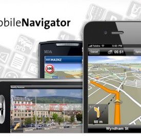 Google Street View débarque dans le GPS iPhone/iPad Navigon