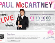 Le prochain concert de Paul McCartney retransmis en live sur iTunes et l'Apple TV