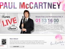 Concert live de Paul McCartney