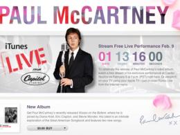 Concert live de Paul McCartney