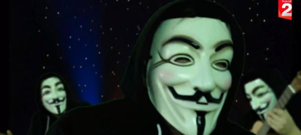Le Petit Anonymous : Parodie du Petit Bonhomme en Mousse