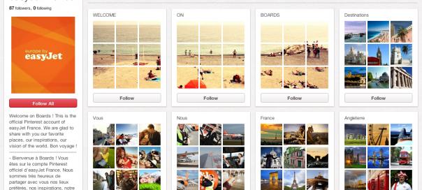 Pinterest : Tableaux secrets pour les données privées