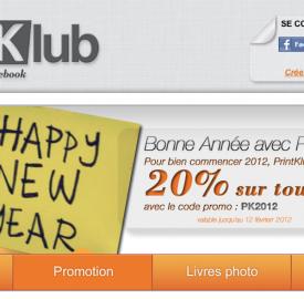 PrintKlub, un site web pour imprimer vos photos Facebook