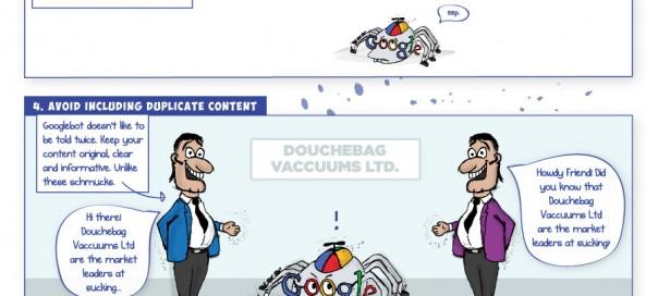 Google : Comportement du GoogleBot aux mauvaises pratiques