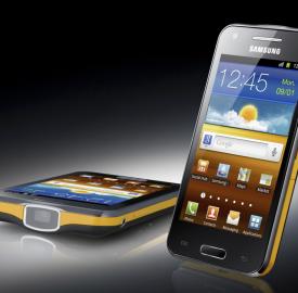 Samsung Galaxy Beam : Le premier smartphone embarquant un pico projecteur