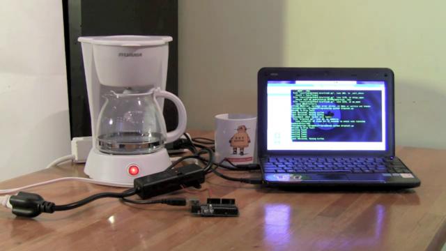 Twitter : Machine à café