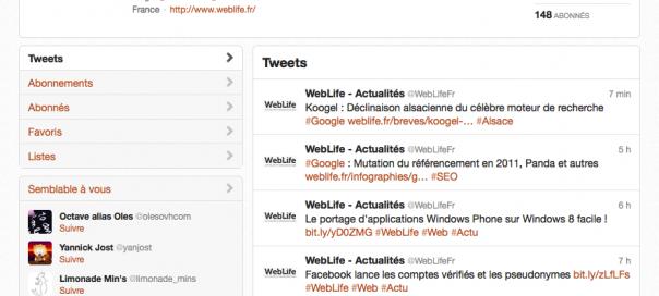 Twitter : Déploiement de la nouvelle interface terminé