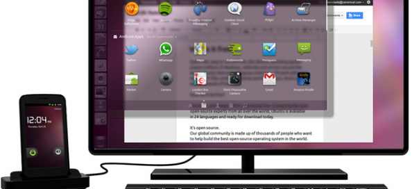 Canonical dévoile Ubuntu for Android