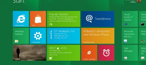 Windows 8 : La Release Candidate pour juin 2012