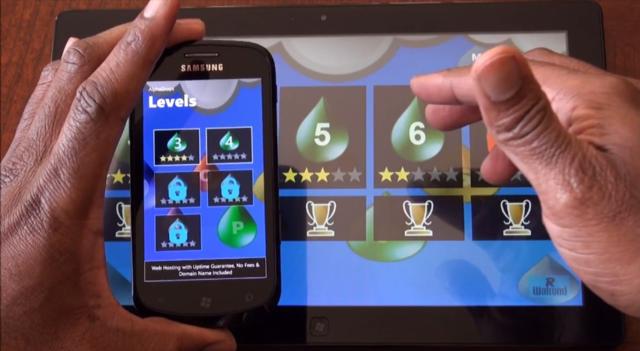 Application Windows Phone sur Windows 8