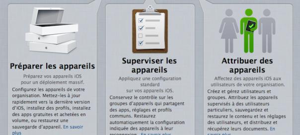 Apple Configurator : Administrer facilement vos iEquipements