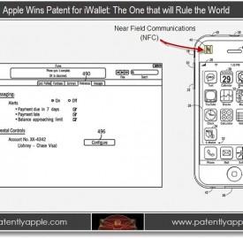 Brevet : iWallet pour iPhone