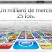 App Store : Barre des 25 milliards de téléchargement dépassée