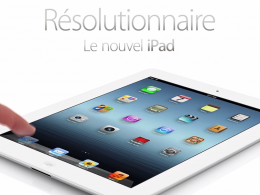 Apple : nouvel iPad