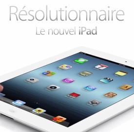 iPad : 3 millions d'exemplaires vendus en 4 jours