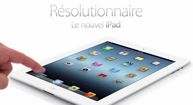 Apple : nouvel iPad