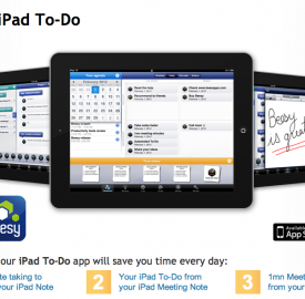 Beesy, une application de prise de notes pour iPad
