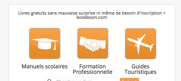 Bookboon.com, un moteur de recherche d'ebooks éducatifs gratuits