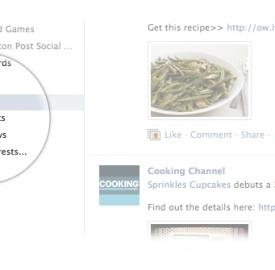 Facebook : Lancement discret des listes d'intérêts