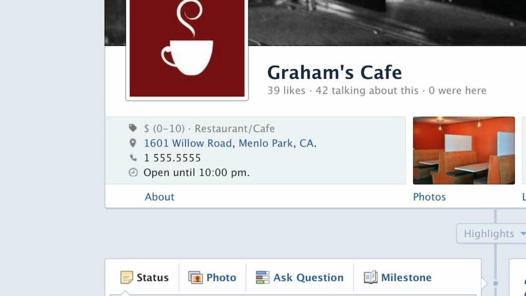 Facebook : Pages Journal (Timeline)