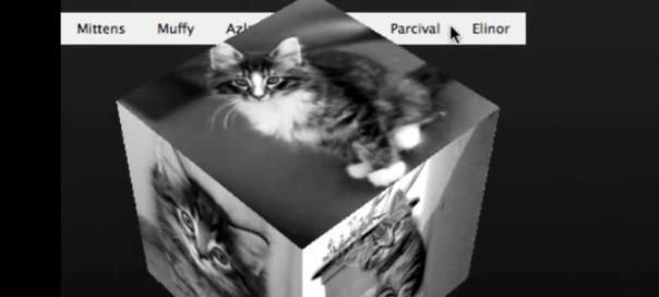 Firefox : Cube & transformations CSS3 en 3D