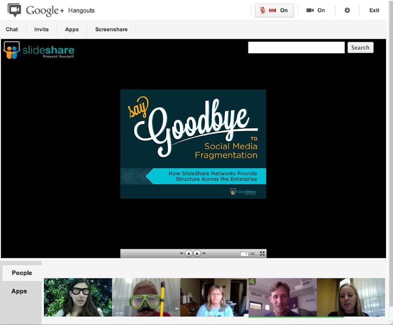 Google Hangout : Applications